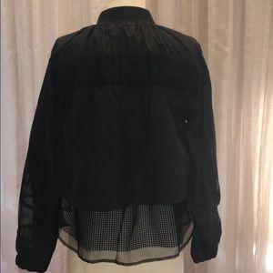 Zara Jackets & Coats - Zara Sport Contrast Mesh Zip Up Jacket